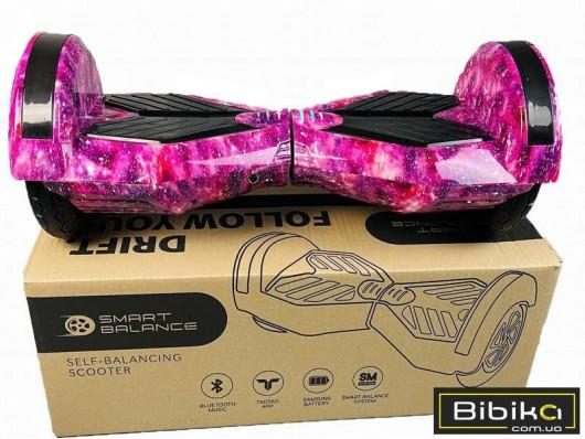 Гироборд 8 дюймов Smart Balance Фиолетовый Космос