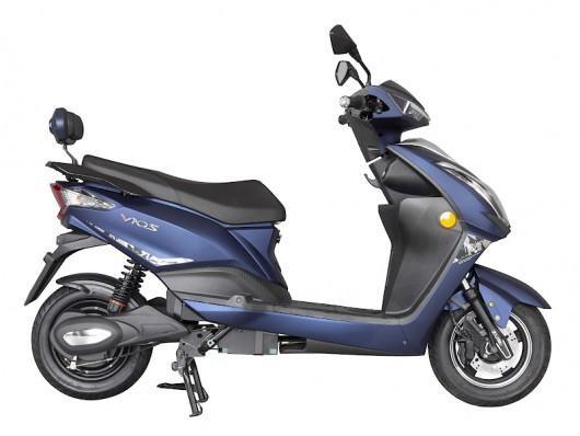 Электроскутер Tiger Dark Blue 1000W/72V