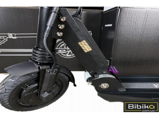 Электросамокат KUGOO S3 BLACK Куго С3 JILONG